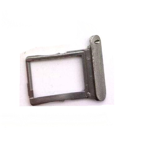 100% Genuine Sim Card Tray Slot For <font><b>Lenovo</b></font> IdeaTab <font><b>S5000</b></font> S5000H SIM Card Connector Holder Metal maetrial Replacement Parts image