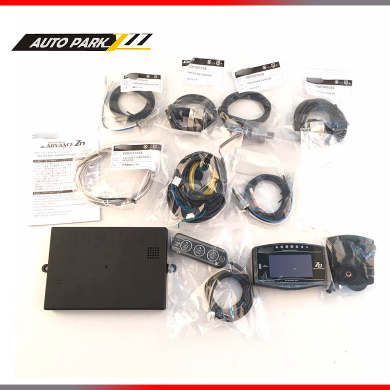 Advance ZD Style Sports Digital Meter Full Kit BF CR C2 60 52 Gauge цены онлайн