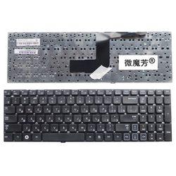 Ru preto novo para samsung rv515 rv511, e3511 rv509 rv520 s3511 rc530 rv518 teclado do portátil russo
