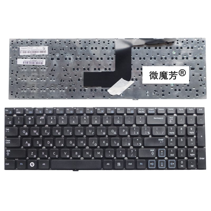 RU Black New FOR Samsung RV515 RV511 E3511 RV509 RV520 S3511 RC530 Rv518 Laptop Keyboard Russian