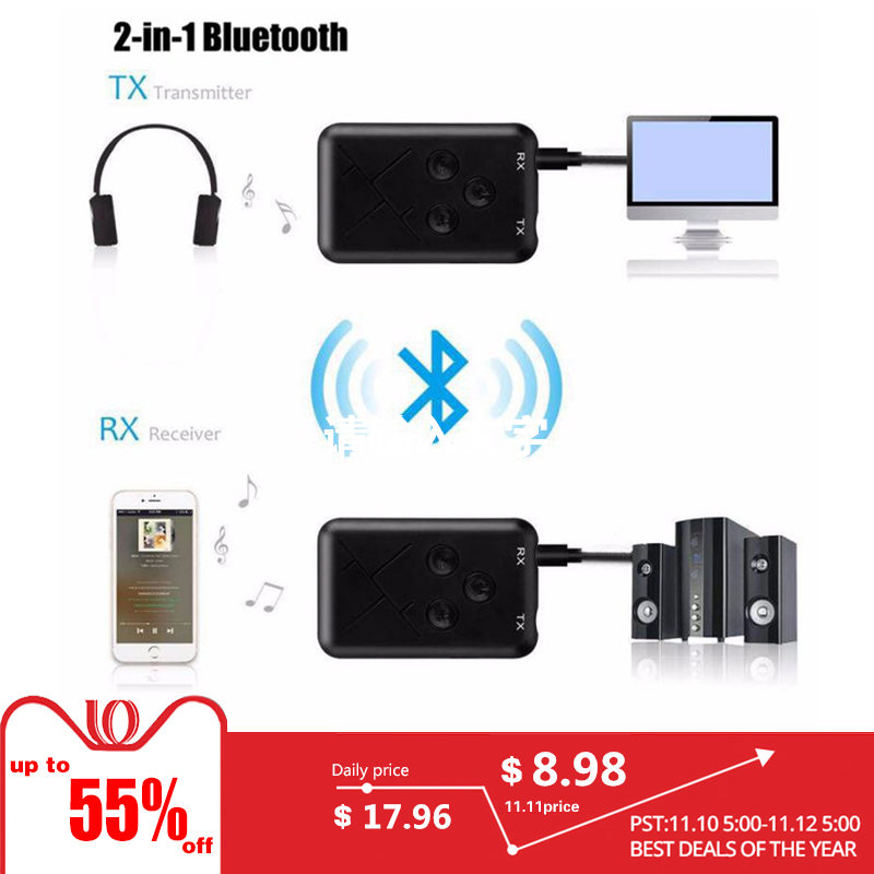Bluetooth Dongle Transmitter 3.5mm Audio Adapter Transmitter for TV Speaker usb bluetooth adapter for car stereo bluetooth dong стоимость