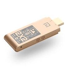 أفضل العروض اللاسلكية واي فاي دونجل العرض HDMI 2.4GHz جهاز استقبال للتليفزيون Miracast Airplay DLNA داعم محول IOS أندرويد الهاتف الذكية وسائل الإعلام