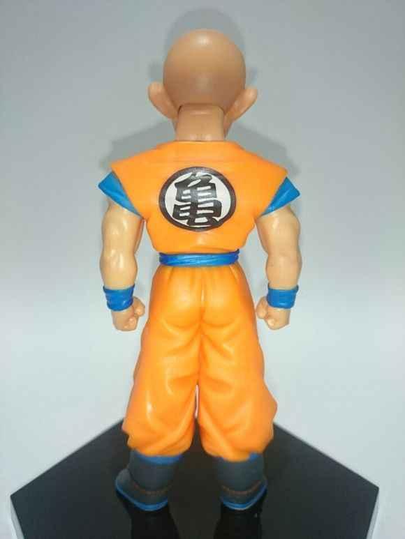 Dragon Ball Z Figura de Ação DBZ Goku Kuririn Estilo Pé Amigo Coleção Brinquedos Modelo 11 cm