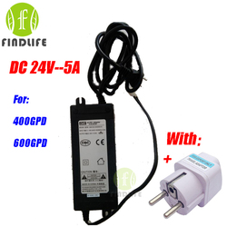 Water Filter Parts Booster Pump Transformer DC24V-5A For 300GPD 400 GPD 600GPD Water purifier Reverse Osmosis machine