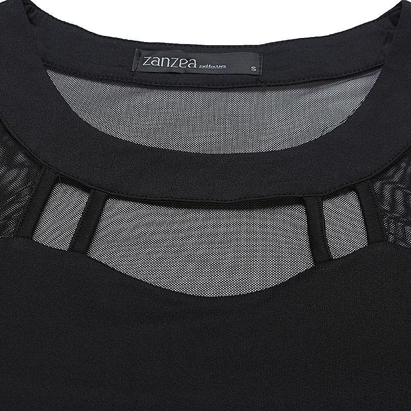 HTB1LVCvOFXXXXaPaXXXq6xXFXXX3 - Autumn Sexy Long Sleeve O Neck Solid Blusas Shirts