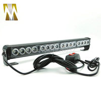 Yellow White Blue Amber Red Green 16 LED High Power Strobe Light Fireman Flashing Police Emergency