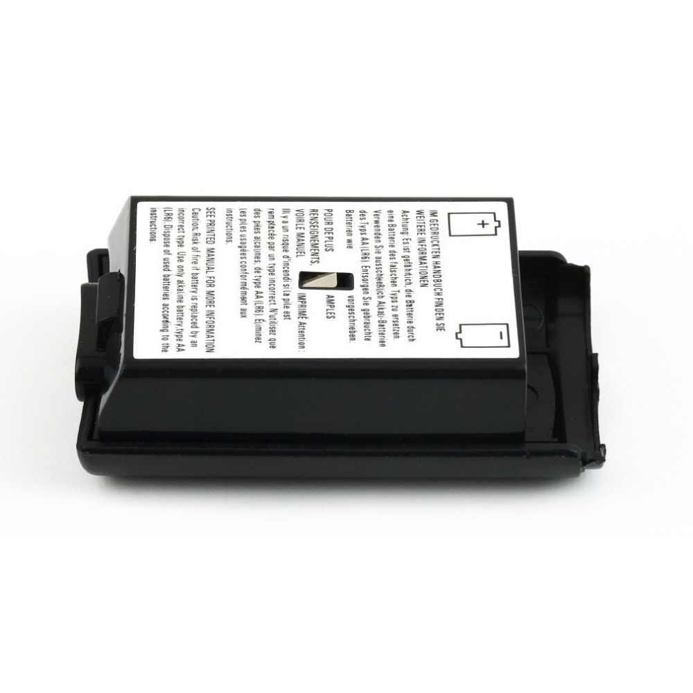 العالمي بطارية حزمة غطاء قذيفة درع حقيبة أدوات ل Xbox 360 وحدة تحكم لاسلكية عالية الجودة الأسود غطاء البطارية قذيفة
