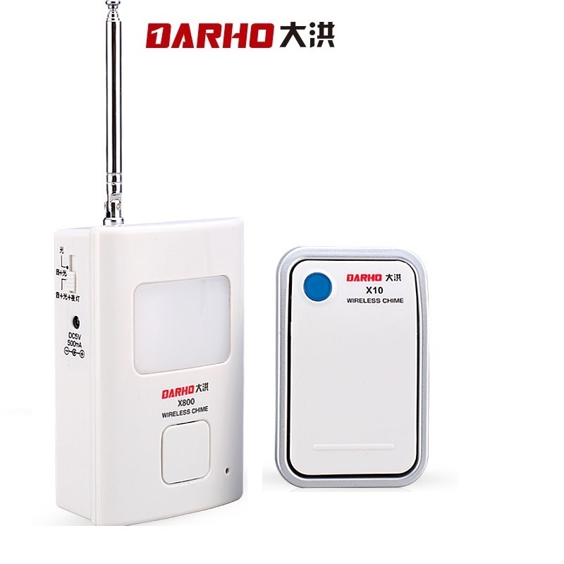 Darho 115dB Wireless Welcome Chime Home Care Alert Calling  For Elderly Patient Baby Store Doorbell Burglar Alarm SystemDarho 115dB Wireless Welcome Chime Home Care Alert Calling  For Elderly Patient Baby Store Doorbell Burglar Alarm System