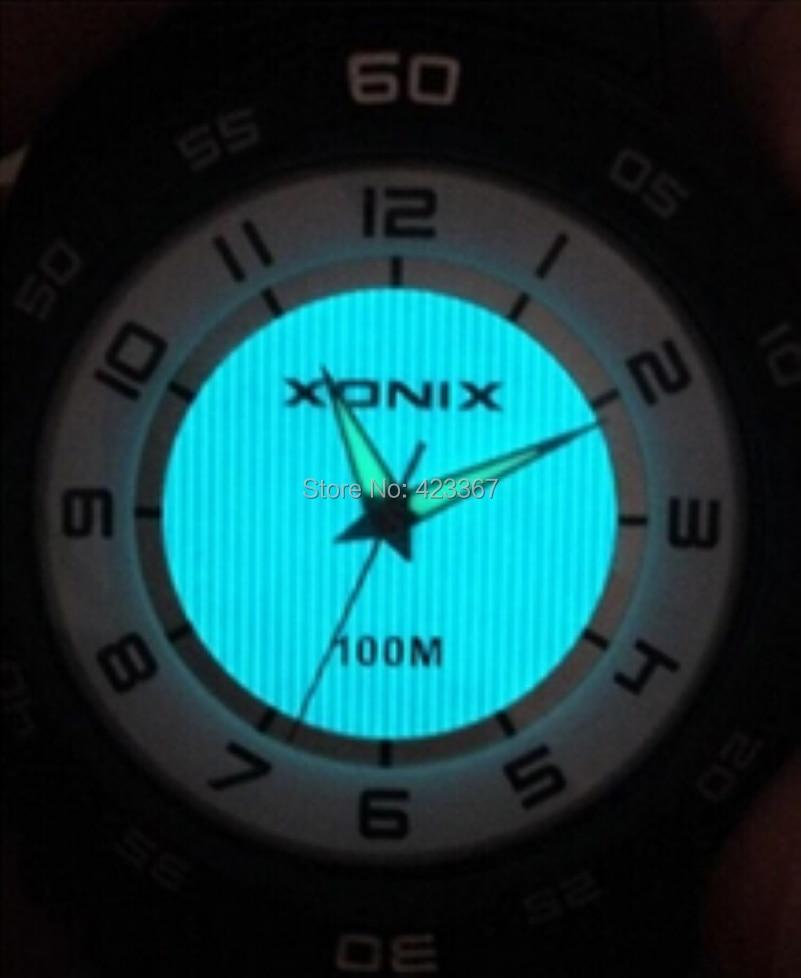 Japonské křemenné nepromokavé náramkové hodinky - Mens Sports Watches Quartz  Analog Led Lighting Waterproof 100m Japan Movement Swim  Diving Watch Student Wristwatch