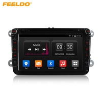 FEELDO 8 Android 4 4 4 Quad Core DDR3 2G 4G LTE Car DVD GPS Radio