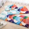 Cartoon Animal Printed Bedroom Kitchen Carpet Kids Room Doormat Area Rug For LivingRoom Non Slip Soft