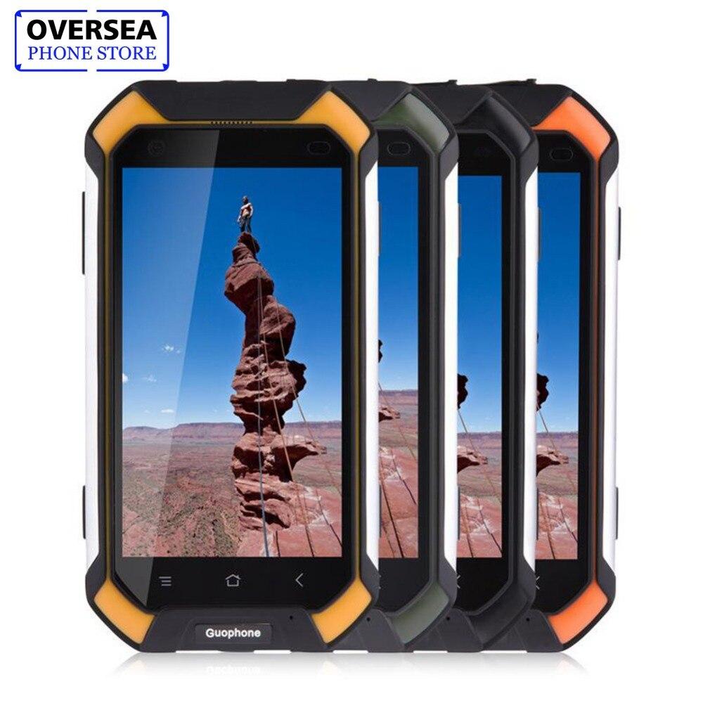 Guophone V19 Impermeabile Smartphone 2 GB + 16 GB IP68 Antiurto Phone GPS 3G Android Smart Phone Cellulare Telefono 4500 mAh