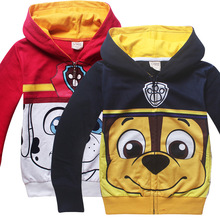 3-8T Spring Autumn Cartoon Boys Hoodies Jackets Cotton Zipper Boys Sportsuit Children Long-Sleeved Outerwear Jacket Kids Sweater