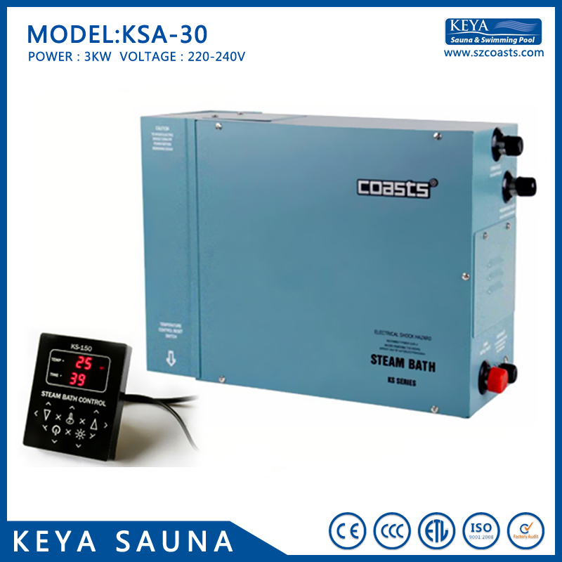 Spa Tubs & Sauna Rooms Official Website Steamist 10.5kw 380-415v Wet Steam Bath Generator For Both Home & Commercial Use