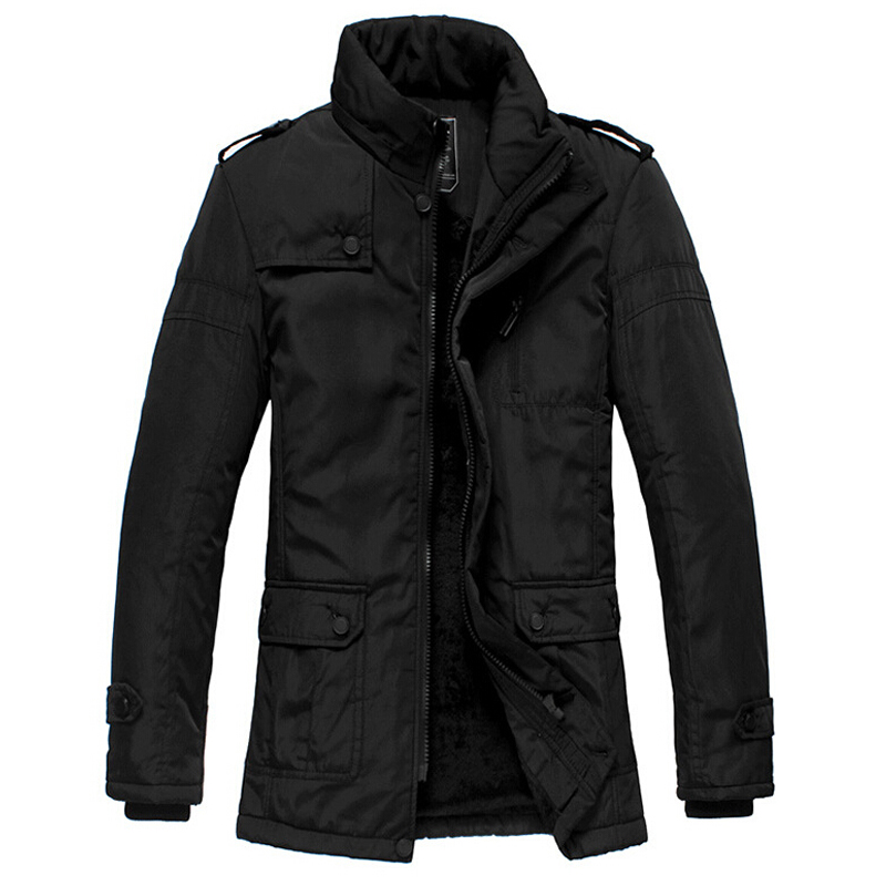 Winter Jacket Men Thickening Casual Cotton Jackets Waterproof ...