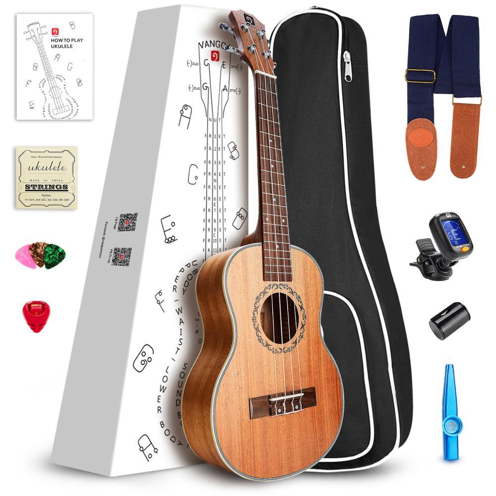 23 Concert /21 Soprano Mahogany wood Ukulele Mini Guitar with Ukulele Kit
