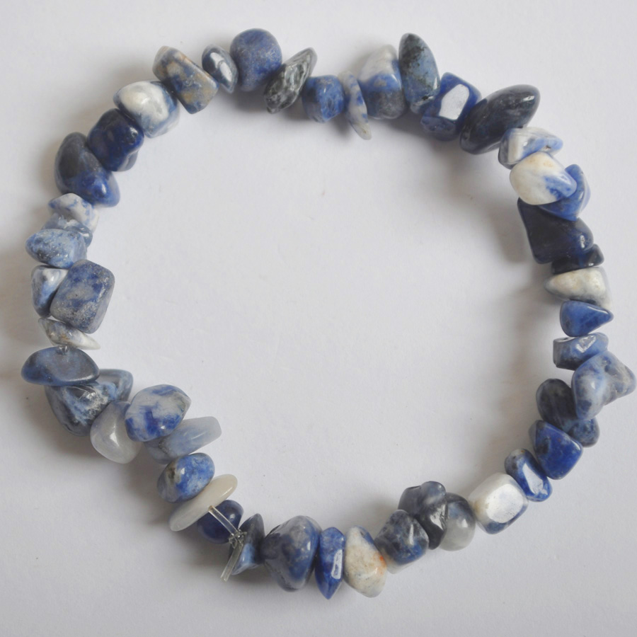 Lucky Chip Beads Blue...