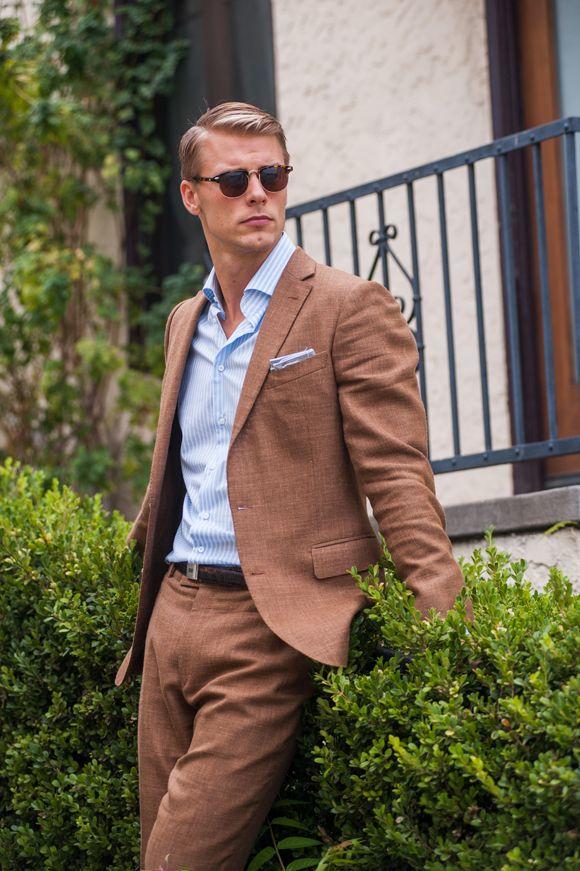 Aliexpress.com : Buy 2017 Latest Coat Pant Designs Brown Men Suit ...