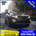 CDX Car styling For KIA Sportage R 2015 2016 LED DRL turn signal yellow led daytime running lights High brightness guide DRL
