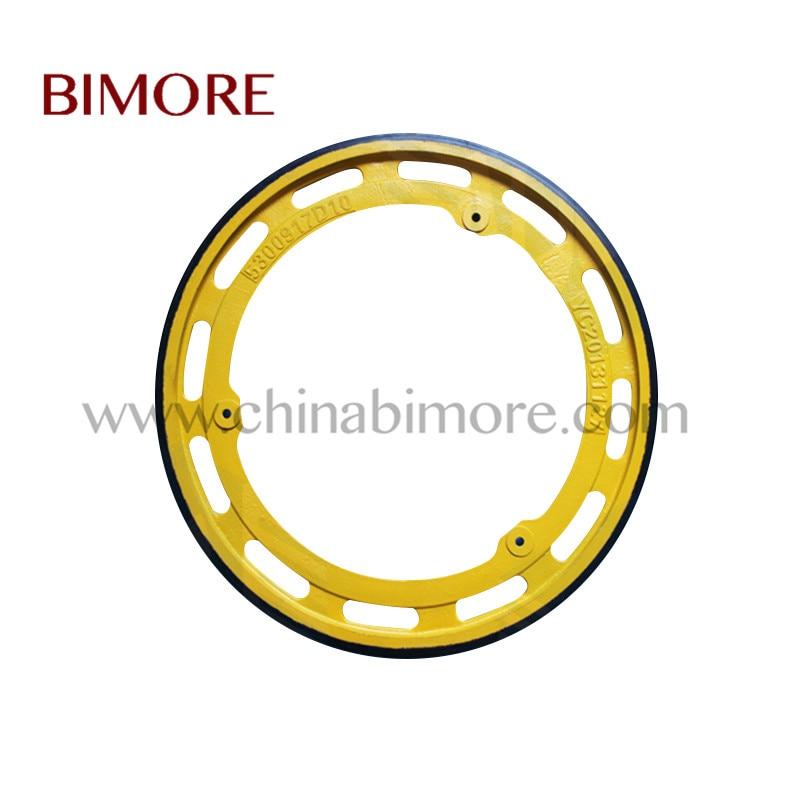 5300917D10 KONE/Schindler 9300 Escalator Friction Wheel OD497mm ID350mm Thickness 30mm escalator handrail friction wheel od587mm id433mm thickness 30mm