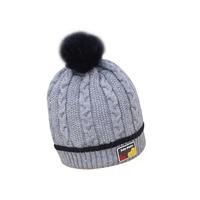 Velvet Baby Hat Cotton Newborn Beanies Warm Baby Boy Beanies Thick Winter Girl Hats With Pompom