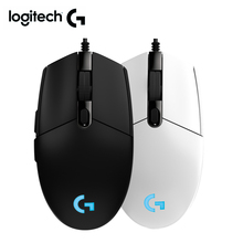Logitech עכבר G102 PRODIGY משחקי עכבר עם חדש 8000 DPI logitech wired עכבר עבור overwatch DOTA PUBG LOL עכבר גיימר