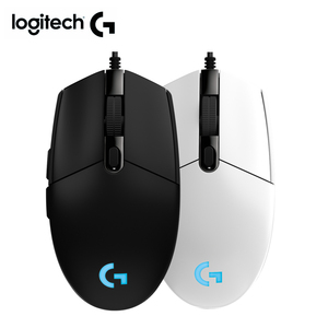 Image 1 - Logitech mouse G102 PRODIGY gaming mouse with New 8000DPI logitech wired mouse for overwatch DOTA PUBG LOL mouse gamer