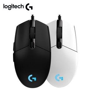 Image 1 - Logitech souris G102 PRODIGY souris de jeu avec nouvelle souris filaire 8000 DPI logitech pour overwatch DOTA PUBG LOL souris gamer