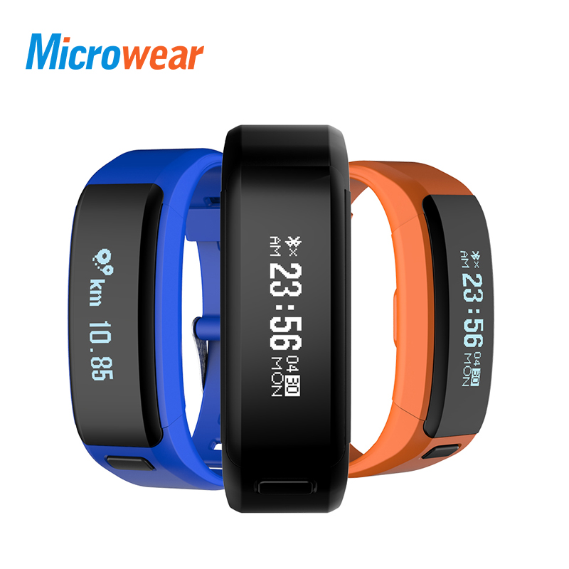 Microwear XR01 Smart Bracelet Fitness and Sleep Tracker Pedometer Heart Rate Monitor 100 Days Standby Smart band Wristband lemfo id115 hr plus smart bracelet fitness and sleep tracker pedometer heart rate monitor smart band wristband
