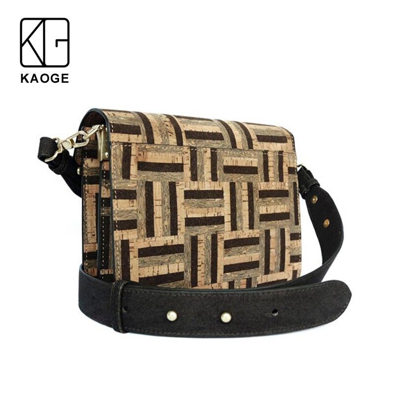 KAOGE Vegan naturel sac en liège femmes à la main femme sacs à bandoulière Antifouling sac à main sacs à bandoulière pour femmes baobao