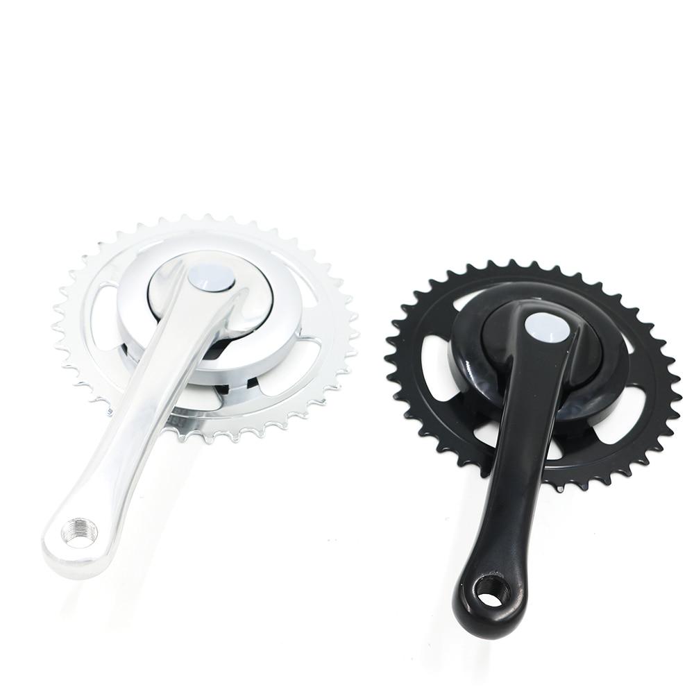 цена на 38T/48T 170MM Crankset Ultegra Bike Parts 7-12spd Electric Bike Crank Chain Wheel Road Bicycles Crank Set Narrow Wide For mtb