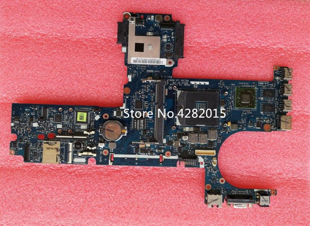 593839 001 Free Shipping LA 4891P Main Board For HP probook 6440B 6540B Laptop Motherboard HM57