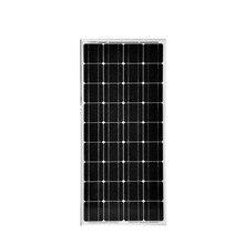 solar panel 100w 12v 2 pcs/lot  solar fotovoltaico 18v 200w off grid solar system monocrystalline solar cell panneau solaire