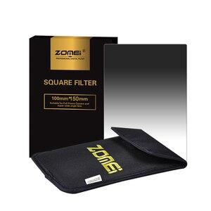 Image 3 - Квадратный фильтр Zomei 100 мм x 150 мм, градиентный Серый фильтр с нейтральной плотностью GND248 ND16 100 мм * 150 мм 100x150 мм для фильтра серии Cokin для Cokin