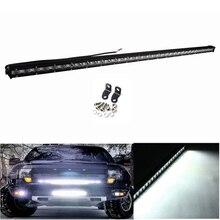 38 polegadas 108 W Reta Slim Led Light Bar Single Row Externo Luzes de condução Da Lâmpada Fit Jeep Truck SUV ATV Caminhões à prova d' água barco
