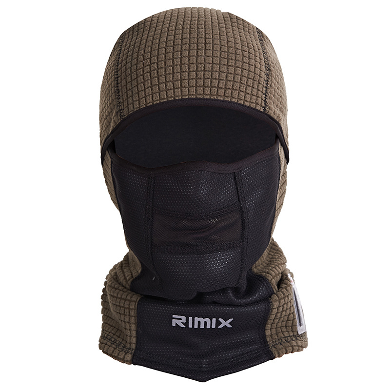 Temperature Display Outdoor Windproof Winter Warm Thermal Fleece Mask Hat Cycling Ski Breathable Balaclava Skull Face Mask