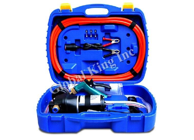 12V 145PSI Electric High Pressure Car Washer Portable Car Wash Pump 120W 480l h portable wash device car washing machine cleaning pump household high pressure car wash pump