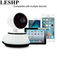LESHP Baby Monitor Mini Camera IP 720P Wireless Smart WiFi Camera Audio Record Surveillance Baby Monitor
