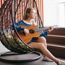 Enya EA-X1/EQ 41 Inch KOA-Patterned HPL Wood Full Board Acoustic Guitar Free Fast Shipping