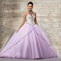 Hot roxo barato vestidos quinceanera bola de disfarce vestidos com frisada sweet 16 vestidos vestido quinceanera af22