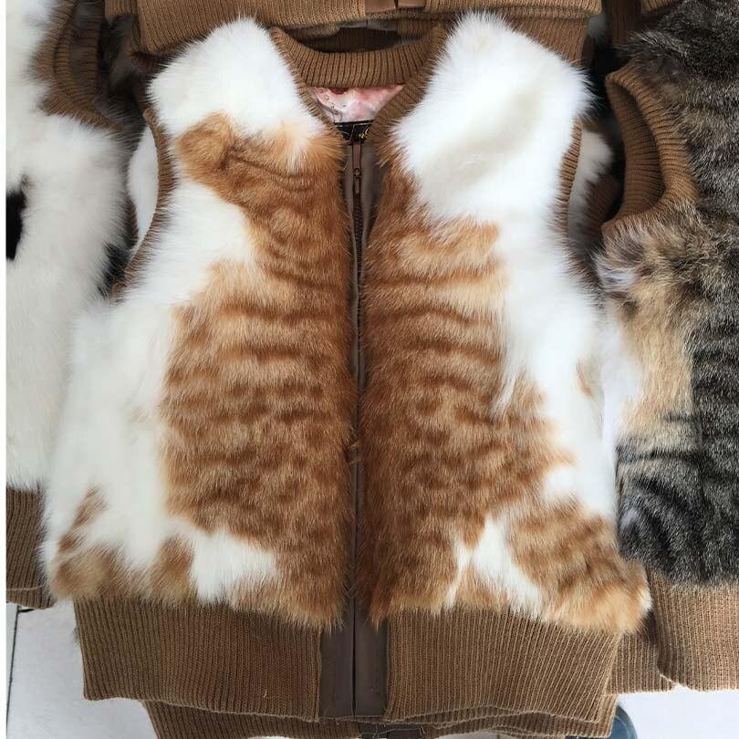 Бук Куница Меховой Жилет Настоящее Бук Куница Меховой Жилет Для Женщин мода Модный Casual Меховой Жилет Натуральный Мех Толстый Теплый Женщины Пальто
