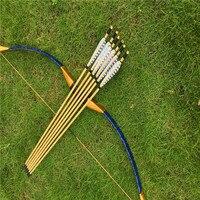 Barato Piel de serpiente azul de 20 60lbs hecha en China arco tradicional para arquería loverss de