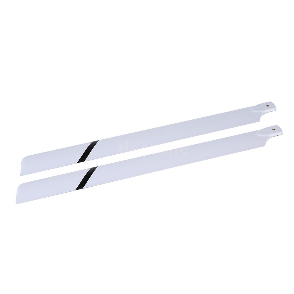 Fiber Glass 600mm Main Blades for Align Trex 600 RC Helicopter UK Stock 77OD