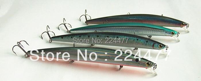 16,5cm 26,5g Typ zavěšení Štíhlý tvar Minnobití Návnada - Rybaření