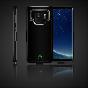 Image 2 - Funda de cargador de batería de 7000 mah para la cubierta de la energía del teléfono de la carga del TPU suave del Samsung galaxy S9 Plus para la carga del coche de Samsung
