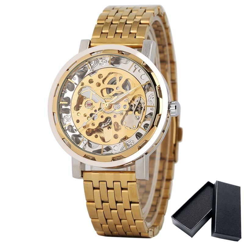 Royal Men's Watch Top márka luxus arany óra férfi csukló - Férfi órák