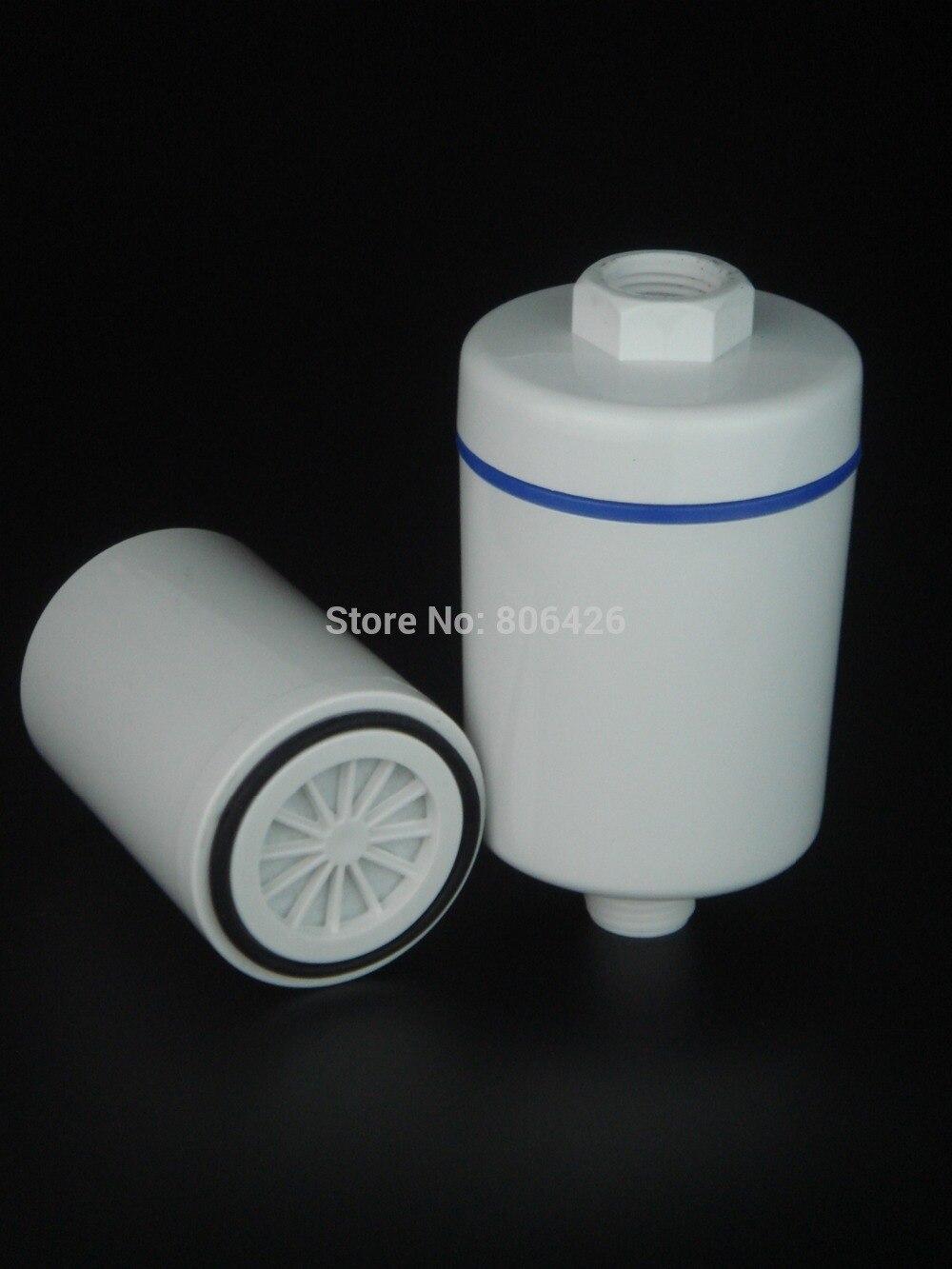 Без хлора Душ фильтр/SPA очиститель воды замена с KDF и углерода/сульфит кальция для wippe от химических и тяжелых металлов