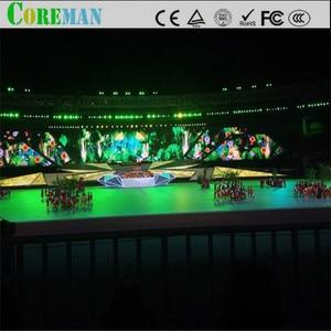 Image 3 - 64*64 точки p2.5 Светодиодная панель 160x160 светодиодный дисплей модуль p2 светодиодный шкаф p2 рекламный сценический светодиодный дисплей экран модуль
