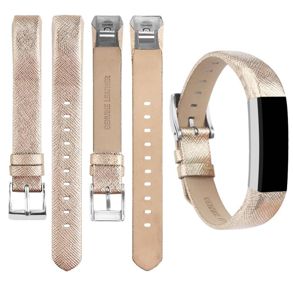 New Leather TPU Band Bracelet Wrist Strap  For Fitbit Charge HR//Alta HR