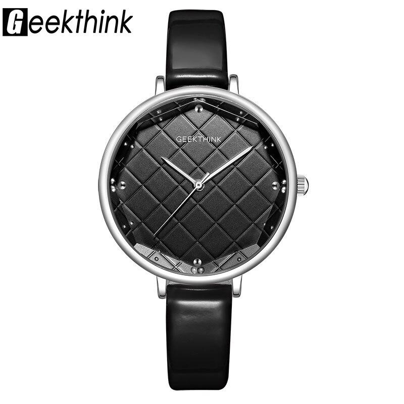 0a5064a492d Mulheres Relógios Relógios para Mulheres Grandes de Vidro Marca das ...
